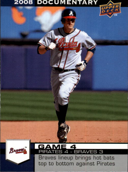 2008 Upper Deck Documentary #24 Kelly Johnson