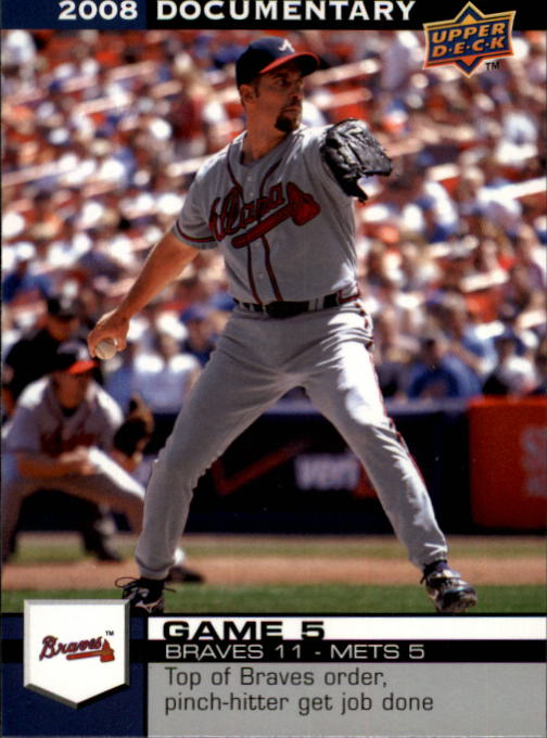 2008 Upper Deck Documentary #25 John Smoltz