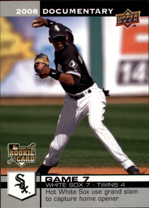 2008 Upper Deck Documentary #67 Alexei Ramirez RC