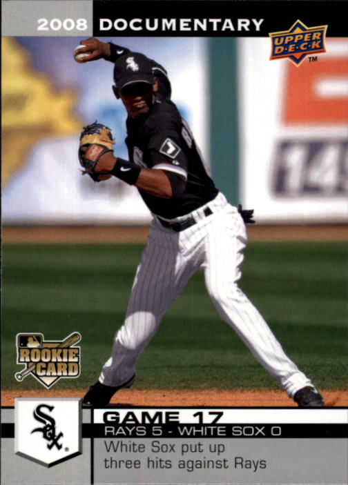2008 Upper Deck Documentary #367 Alexei Ramirez RC