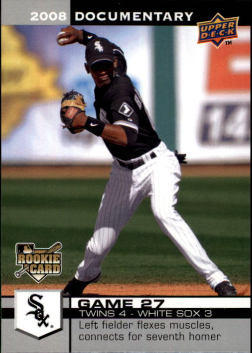 2008 Upper Deck Documentary #667 Alexei Ramirez RC