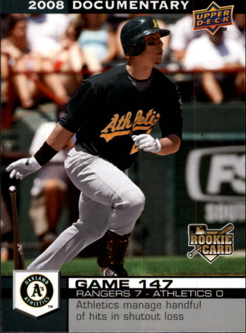 2008 Upper Deck Documentary #4409 Carlos Gonzalez (RC)