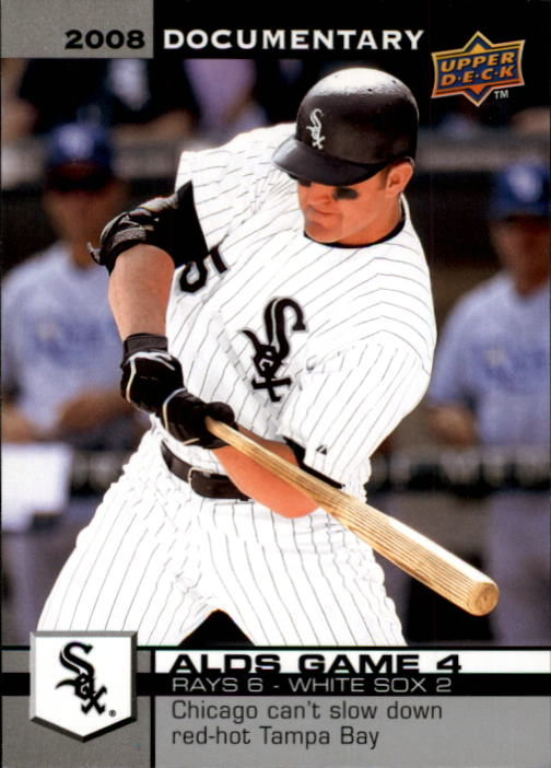 2008 Upper Deck Documentary #4901 Jim Thome