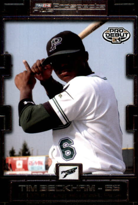 2008 TRISTAR Prospects Plus #1 Tim Beckham PD