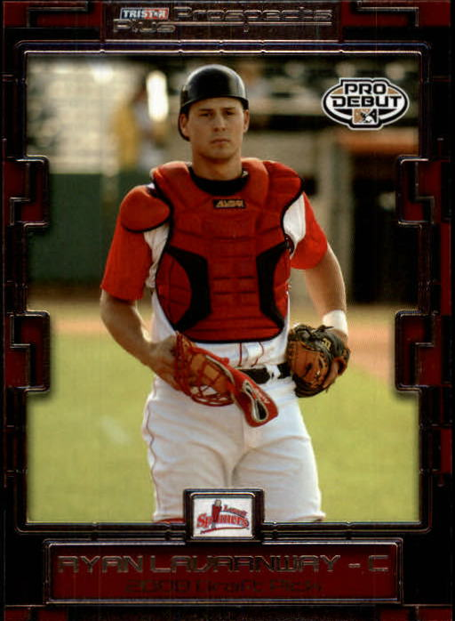 2008 TRISTAR Prospects Plus #104 Ryan Lavarnway PD