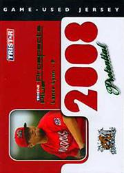 2008 TRISTAR Prospects Plus PROtential Game Used Green #PLL Lance Lynn