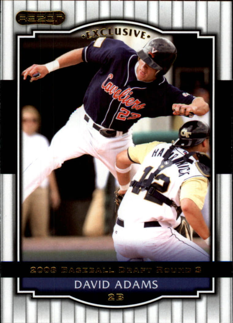 2008 Razor Signature Series #30 David Adams