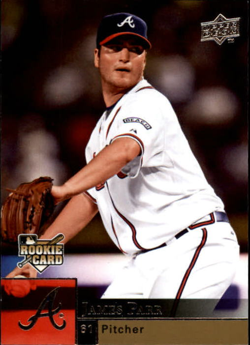 2009 Upper Deck #427 James Parr (RC)