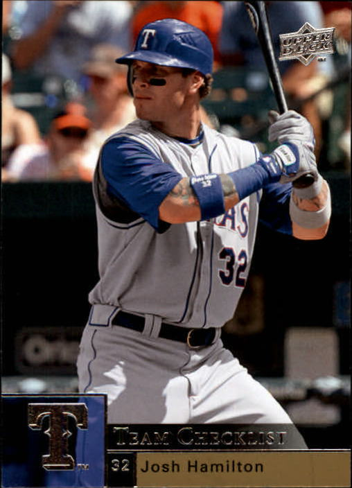 2009 Upper Deck #500 Josh Hamilton CL