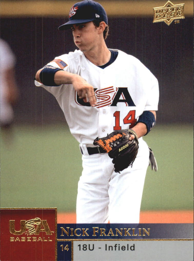 2009 Upper Deck USA 18U National Team #18UNF Nick Franklin