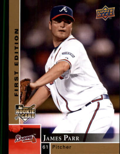 2009 Upper Deck First Edition #24 James Parr (RC)