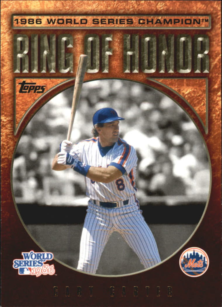 2009 Topps Ring Of Honor #RH39 Gary Carter