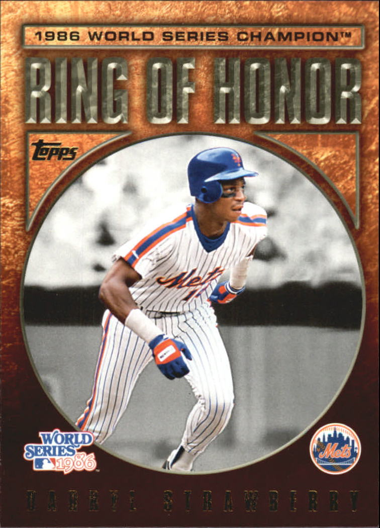 2009 Topps Ring Of Honor #RH54 Darryl Strawberry