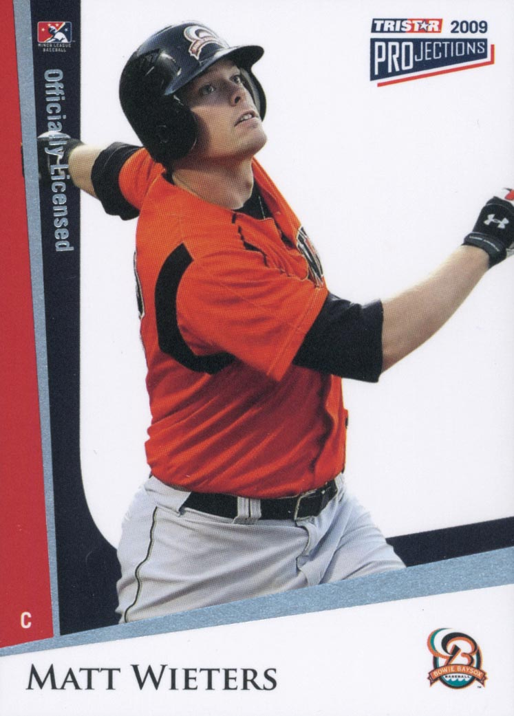 2009 TRISTAR PROjections #10 Matt Wieters