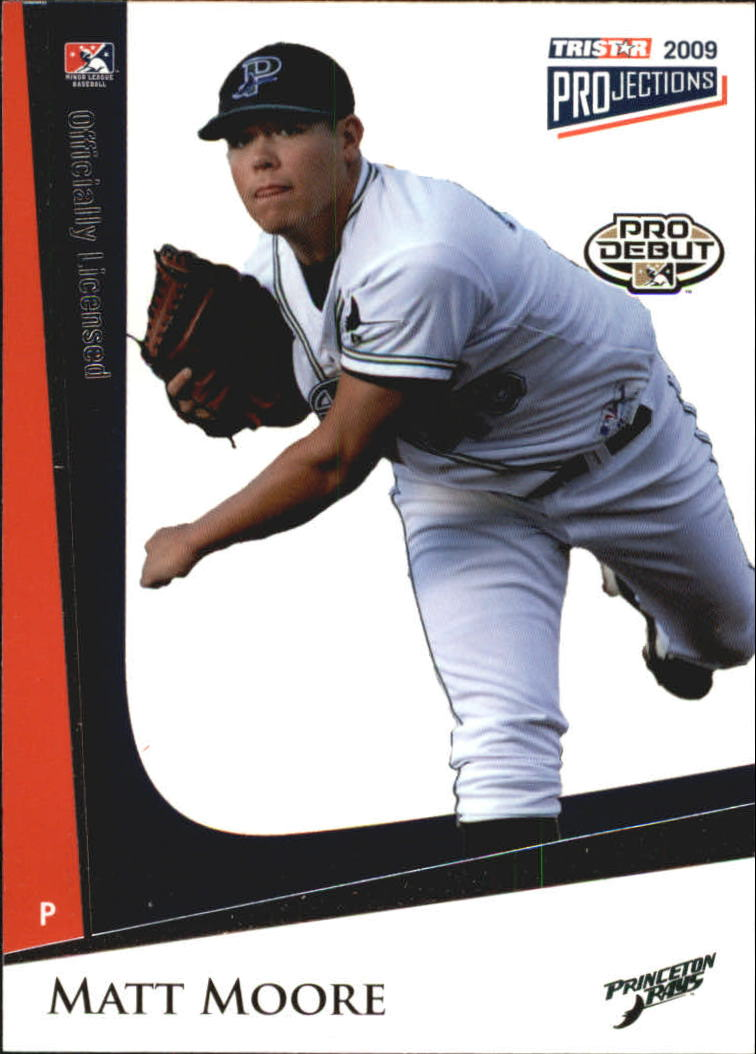 2009 TRISTAR PROjections #142 Matt Moore