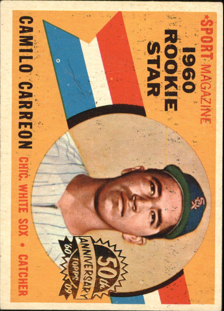 2009 Topps Heritage 1960 Buybacks #121 Camilo Carreon RS