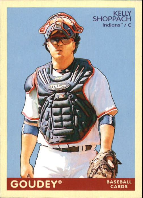 2009 Upper Deck Goudey #59 Kelly Shoppach