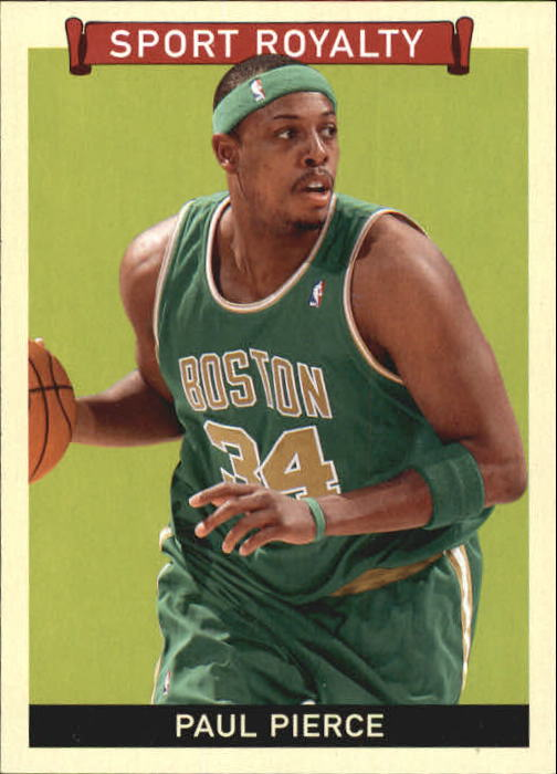 2009 Upper Deck Goudey #256 Paul Pierce SR SP