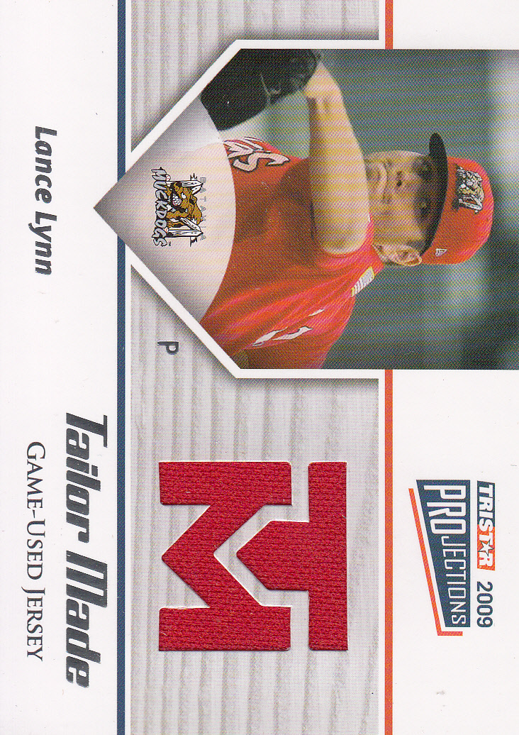 2009 TRISTAR PROjections Tailor Made #TM7 Lance Lynn