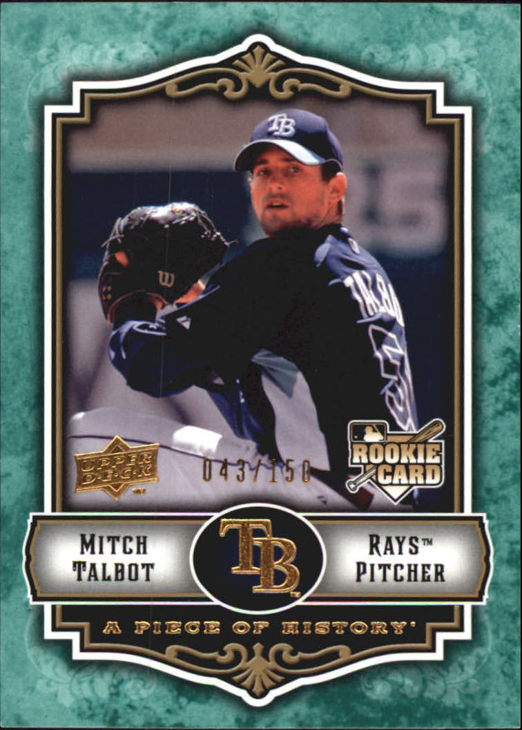 2009 UD A Piece of History Green #150 Mitch Talbot