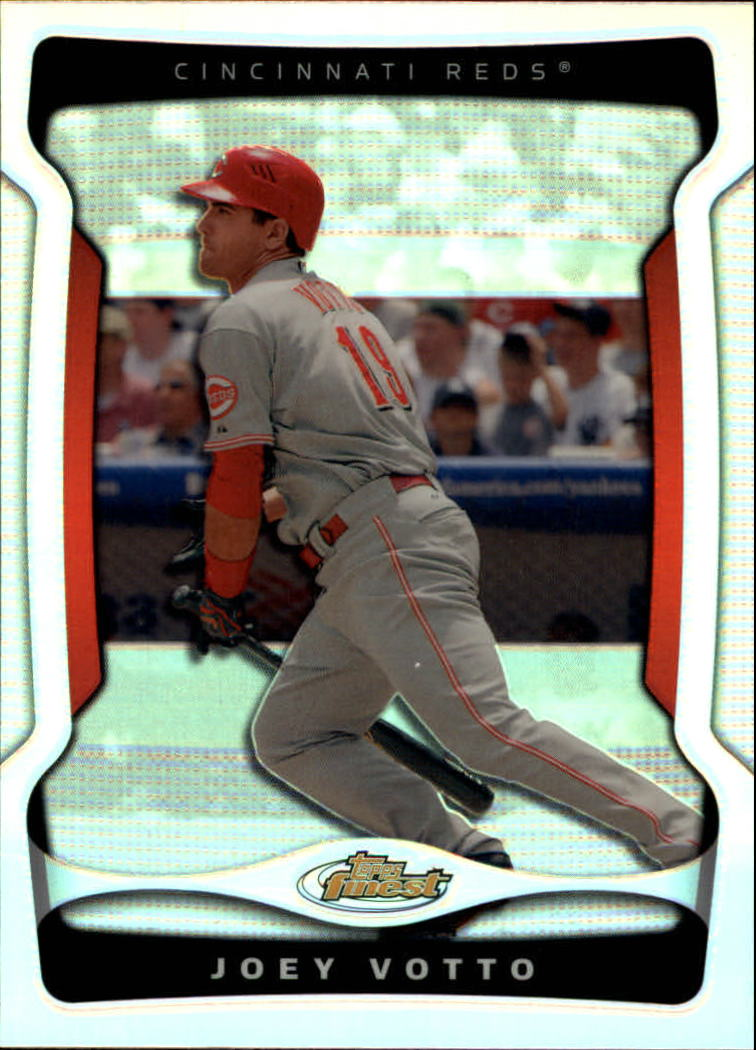2009 Finest Refractors #69 Joey Votto