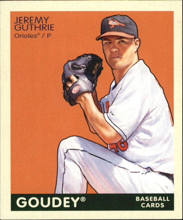 2009 Upper Deck Goudey Mini Green Back #16 Jeremy Guthrie