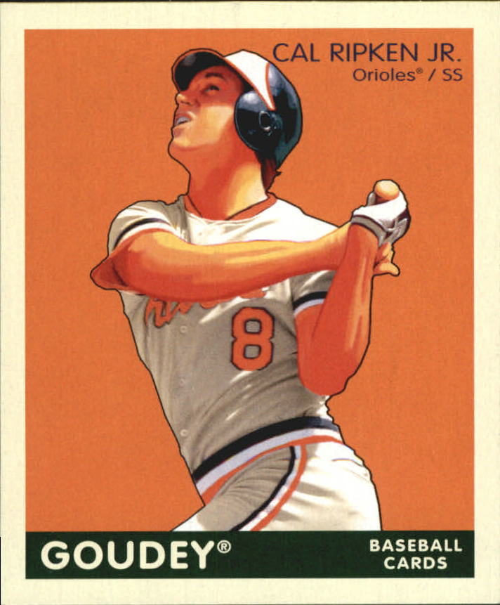 2009 Upper Deck Goudey Mini Green Back #20 Cal Ripken Jr.