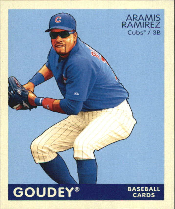 2009 Upper Deck Goudey Mini Navy Blue Back #39 Aramis Ramirez