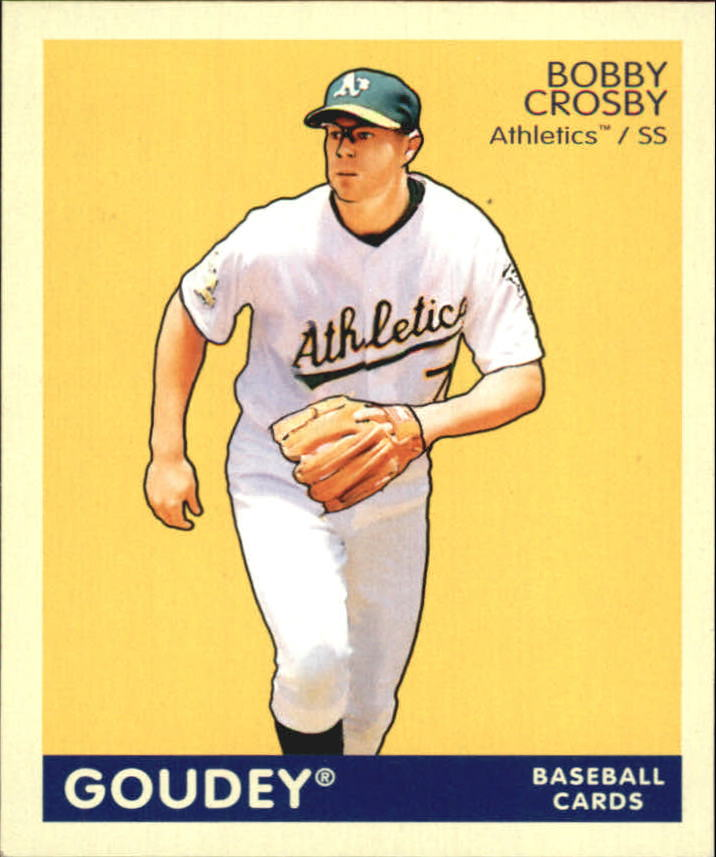 2009 Upper Deck Goudey Mini Navy Blue Back #150 Bobby Crosby