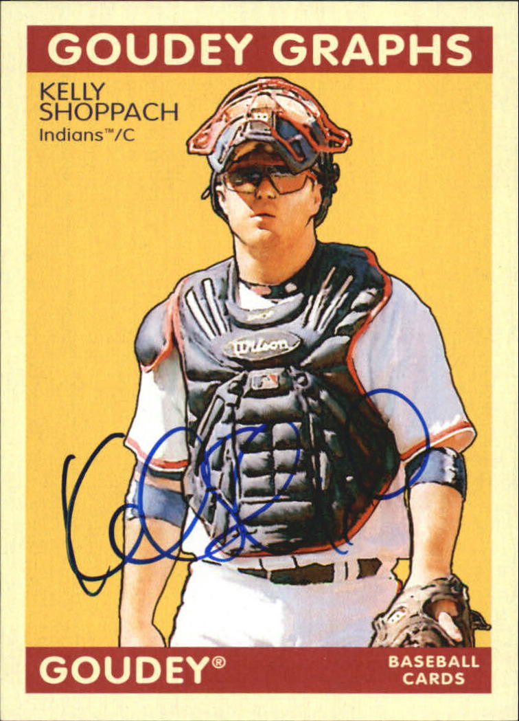 2009 Upper Deck Goudey Autographs #GGKS Kelly Shoppach