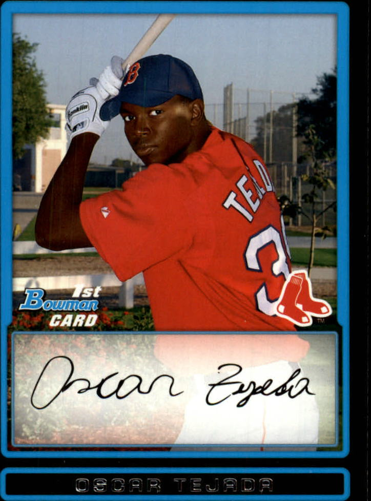 2009 Bowman Prospects #BP2 Oscar Tejeda