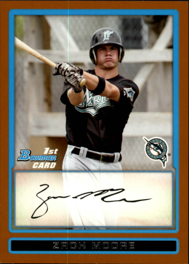 2009 Bowman Prospects Orange #BP85 Zach Moore