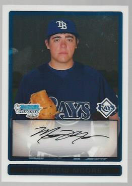 2009 Bowman Chrome Prospects #BCP7 Matthew Moore