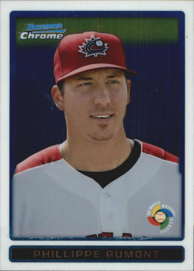 2009 Bowman Chrome WBC Prospects #BCW2 Phillippe Aumont