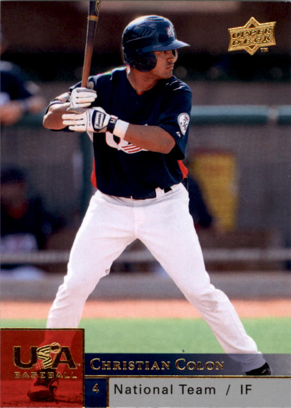 2009 Upper Deck USA National Team #CC Christian Colon
