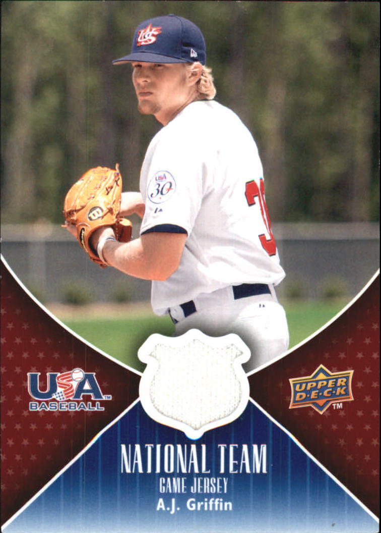 2009 Upper Deck USA National Team Jerseys #AG A.J. Griffin