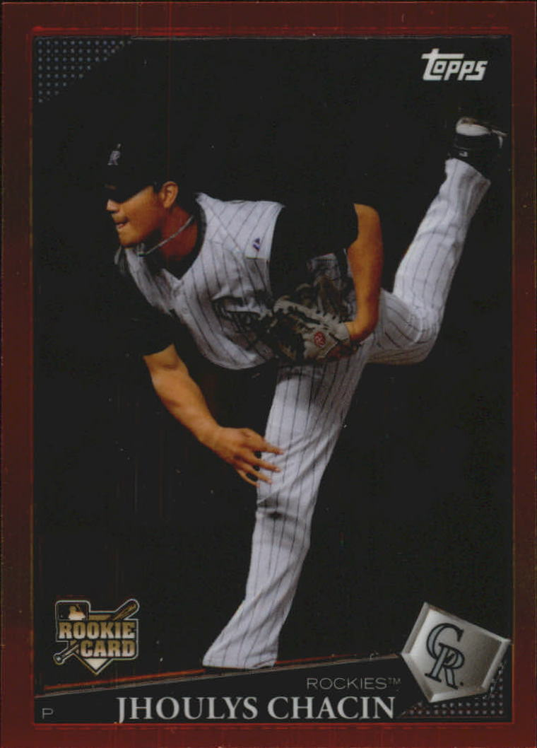 2009 Topps Red Hot Rookie Redemption #RHR9 Jhoulys Chacin