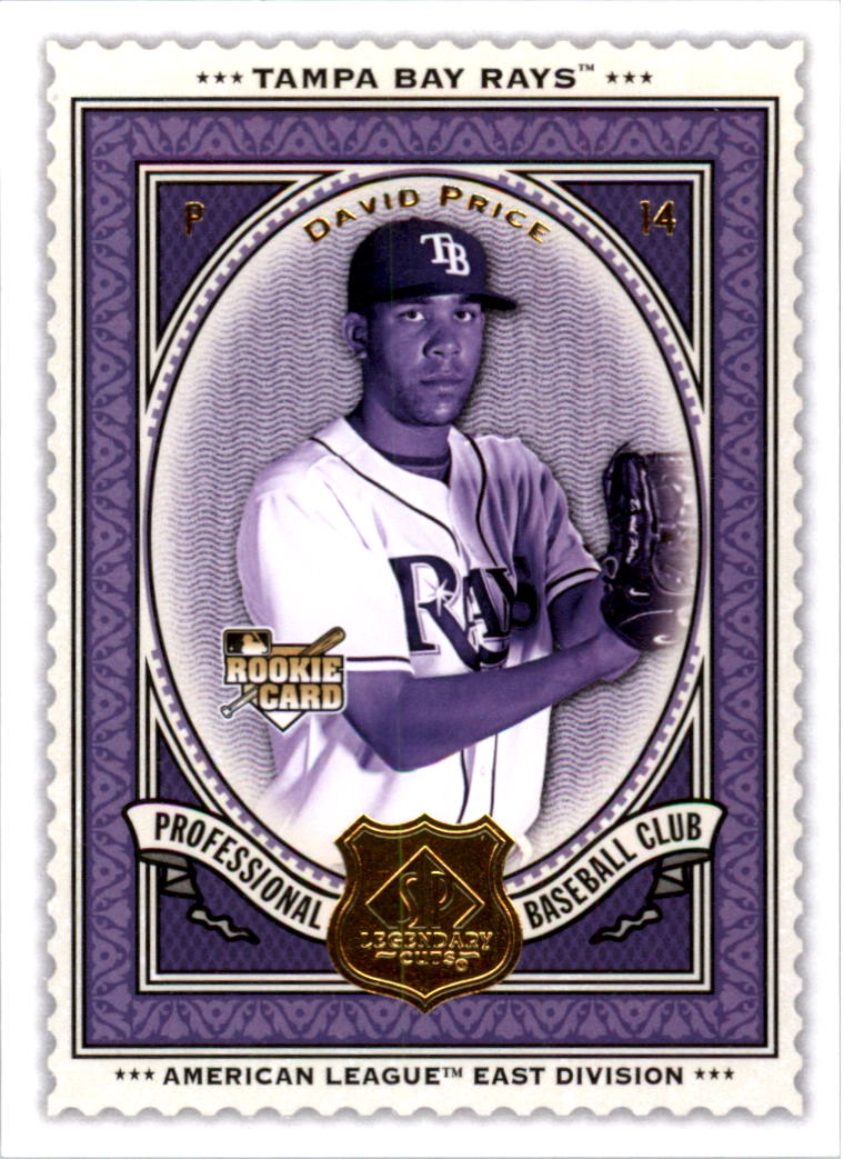 2009 SP Legendary Cuts #14 David Price RC