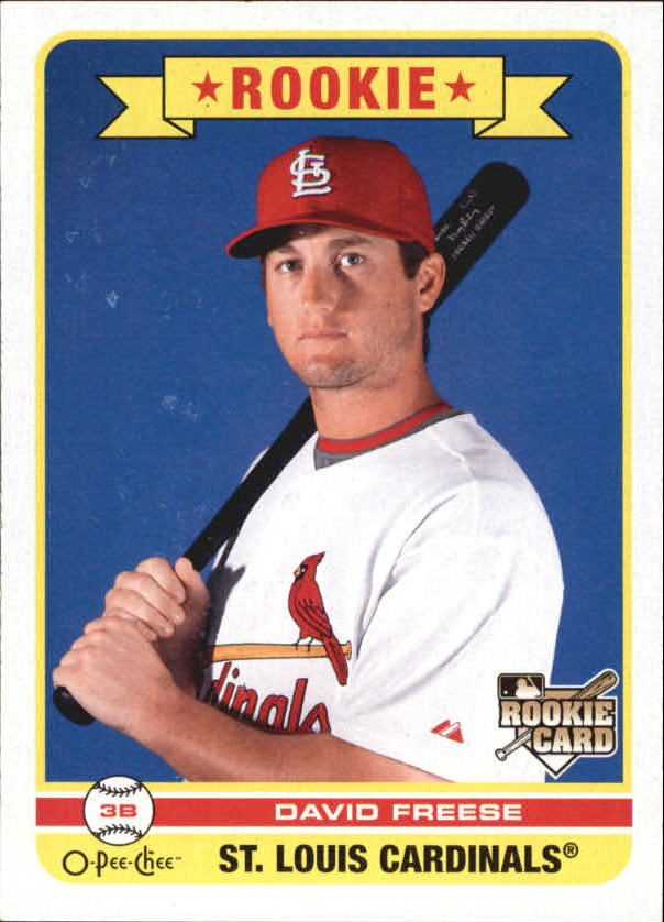 2009 O-Pee-Chee #579 David Freese RC