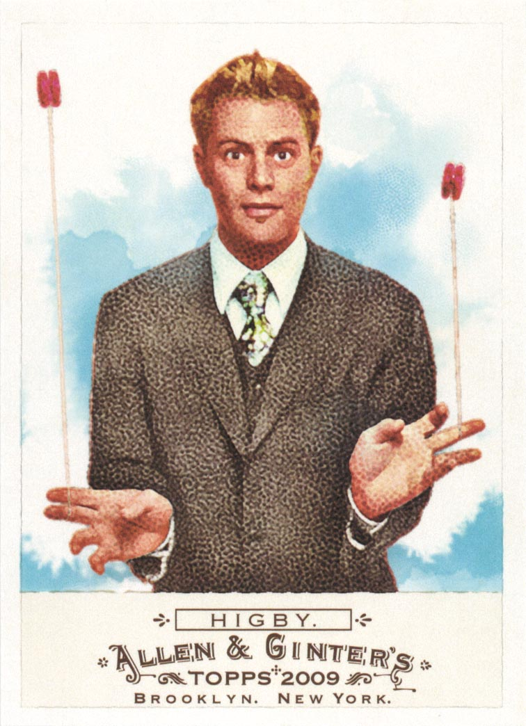 2009 Topps Allen and Ginter #249 John Higby