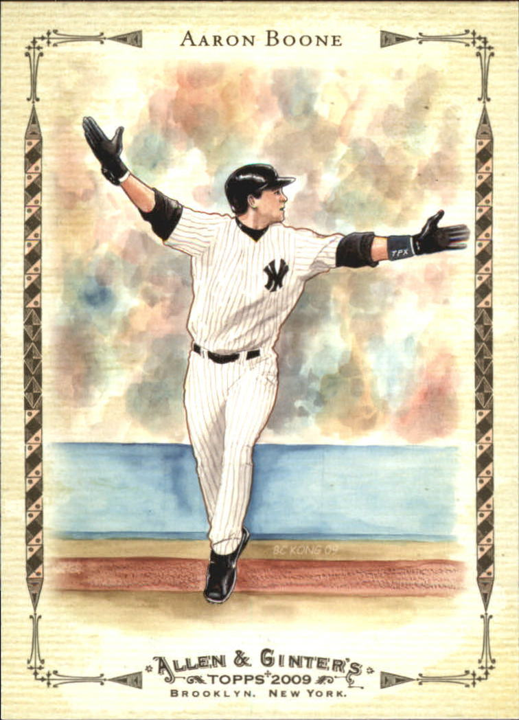 2009 Topps Allen and Ginter Baseball Highlights #AGHS1 Aaron Boone