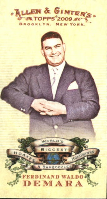 2009 Topps Allen and Ginter Mini World's Biggest Hoaxes #HHB8 Ferdinand Waldo Demara