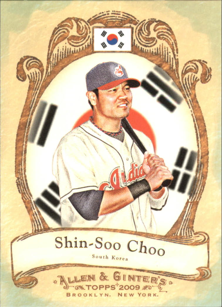 2009 Topps Allen and Ginter National Pride #NP39 Shin-Soo Choo