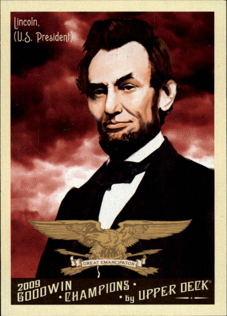 2009 Upper Deck Goodwin Champions #16 Abraham Lincoln
