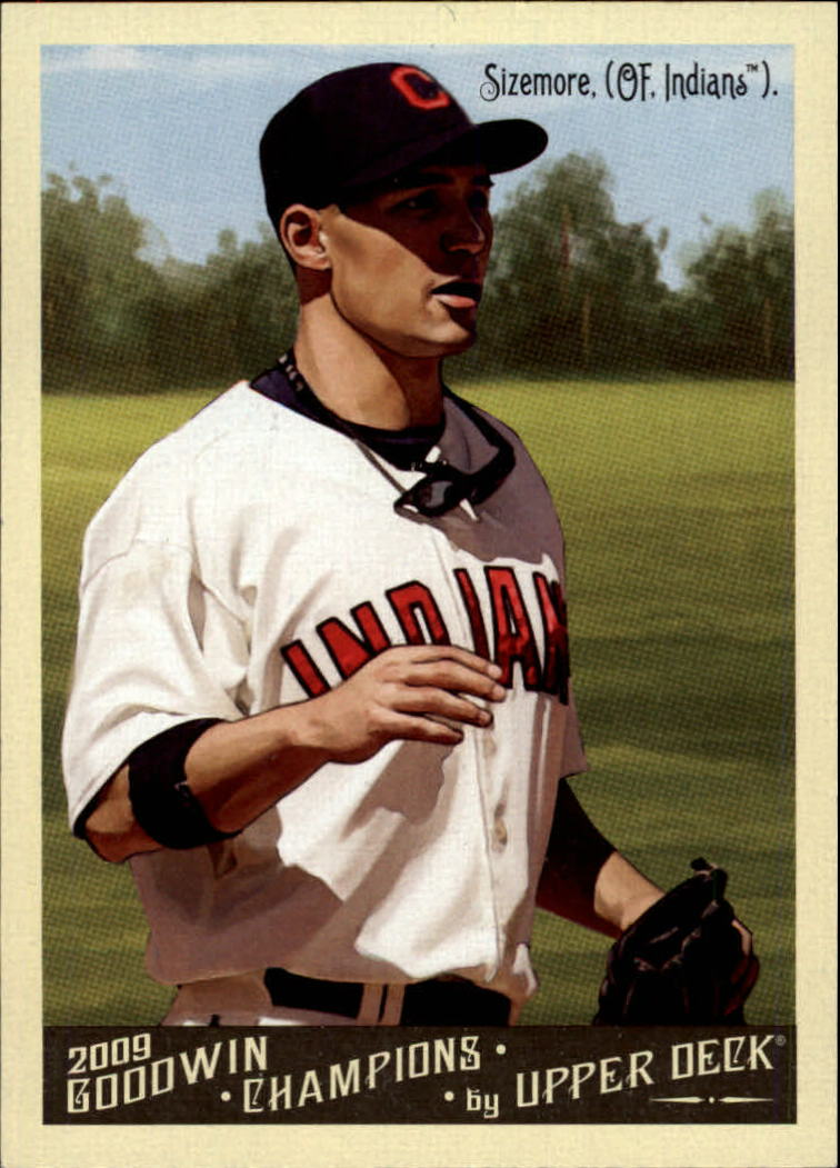 2009 Upper Deck Goodwin Champions #20a Grady Sizemore Day