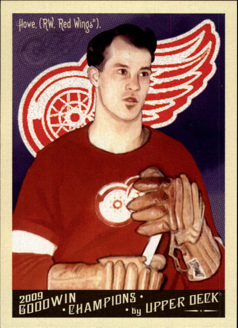 2009 Upper Deck Goodwin Champions #140a Gordie Howe Day