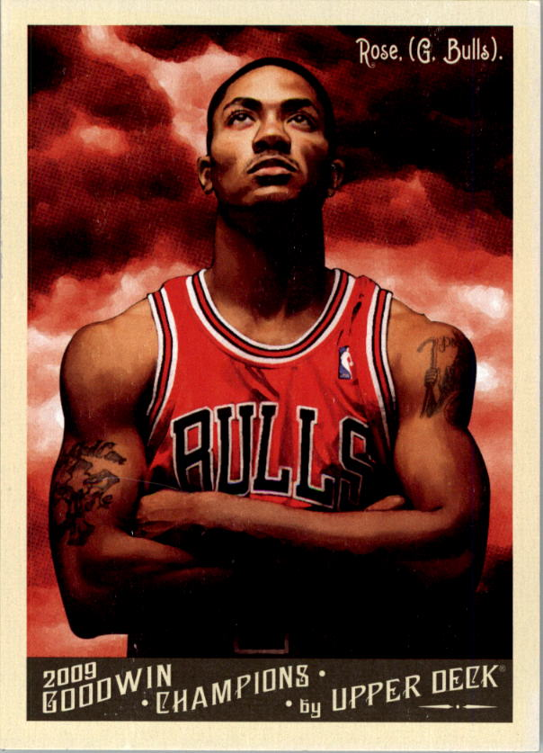 2009 Upper Deck Goodwin Champions #143 Derrick Rose