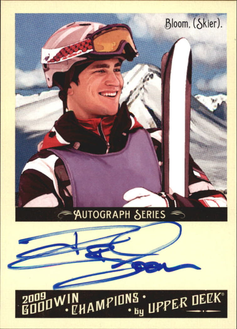 2009 Upper Deck Goodwin Champions Autographs #BL Jeremy Bloom