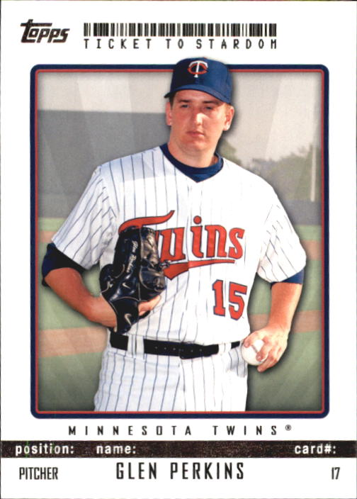 2009 Topps Ticket to Stardom #17 Glen Perkins