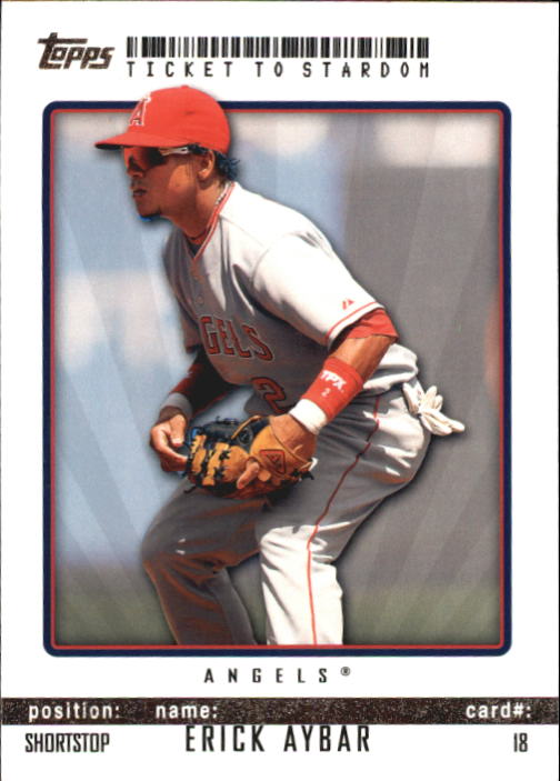 2009 Topps Ticket to Stardom #18 Erick Aybar